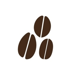 Coffee beans icon image vector