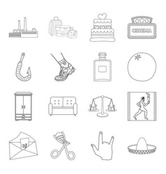 Furniture sports medicine and other web icon in vector