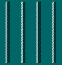 green blue striped seamless background vector image