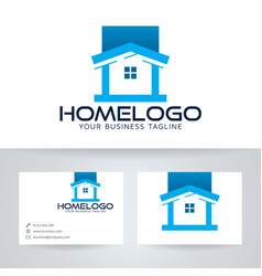 Home logo design vector