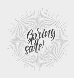 Modern hipster spring sale vector