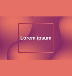 modern orange gradient background v2 vector image