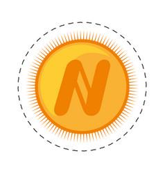 Namecoin money golden commerce vector