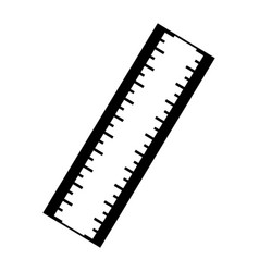 Ruler utensil icon vector