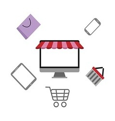 Shopping Online3 vector