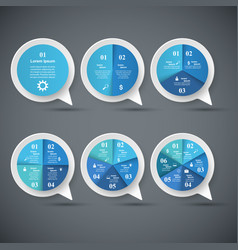 Speech bubl icon dialog box info vector