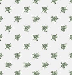 seamless texture with abstract leaves Endless vector image vector image