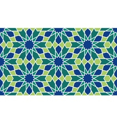 Morocco Seamless Pattern vector image