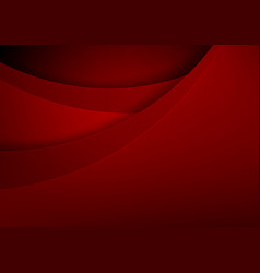 Abstract background basic geometry red layered vector