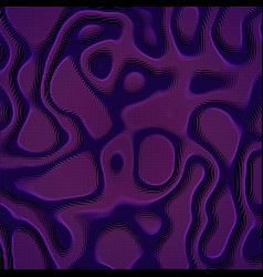 Abstract violet colorful distorted vector