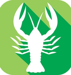 Crawfish Icon vector