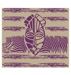 Ethnic mask vector