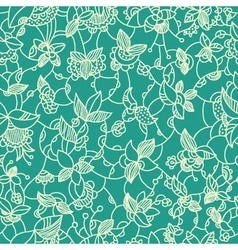 flora pattern vector image