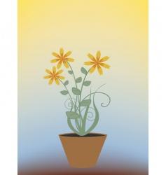 houseplant vector image