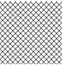 mesh ornament white seamless pattern vector image
