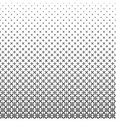 Monochrome star pattern - geometric abstract vector