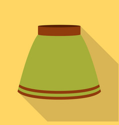 Skirt icon of for web and vector