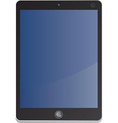 Tablet design vector