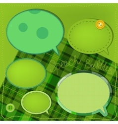 Sewing bubbles vector image