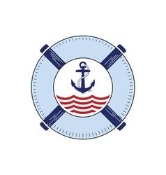 Nautical-Logo-380x400 vector image vector image