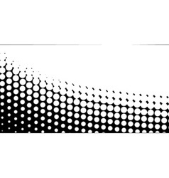 Diagonal B and W Half Tone vector image vector image