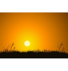 Morning Sunrise vector image vector image