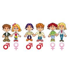Gender - Couples vector