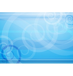 Modern background with blue forms vector