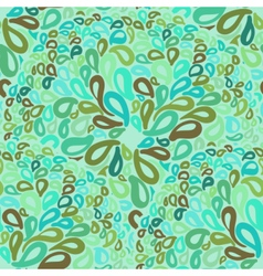 Moroccan tiles ornaments in blue and green colors vector