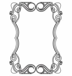 Pattern for design frame vector