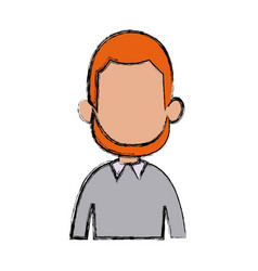 profile man male character avatar people vector image vector image