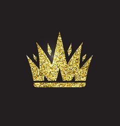 Queen crown royal gold headdress king golden vector