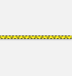 sale background with black and yellow striped vector image