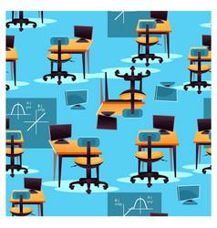 seamless desktop pattern vector image