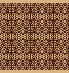 seamless pattern decorative symmetries ornament vector image
