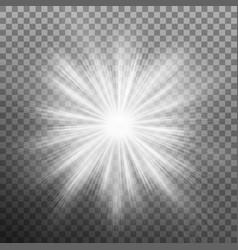 Sunlight lens flare light effect isolated eps 10 vector