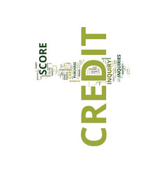 Your credit score can be destroyed by simple vector