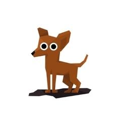 Chihuahua Miniature Dog vector image