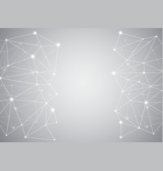 Abstract computer generated on white background vector