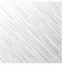 Abstract white and gray gradient stripe diagonal vector