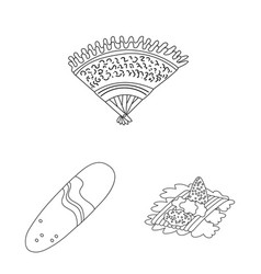 Design balinese and caribbean logo vector