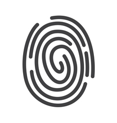 Fingerprint icon2 vector