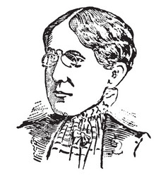 Frances willard vintage vector