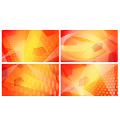 soccer backgrounds in colors of spain vector image