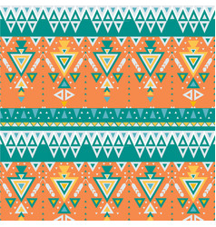 Tribal pattern with geometric elements vector