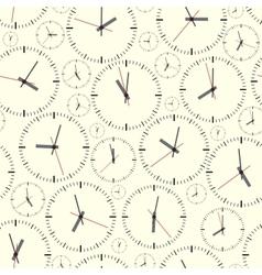 Wall clock Seamless vector