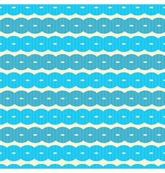 Abstract Retro Seamless Blue Background vector image vector image