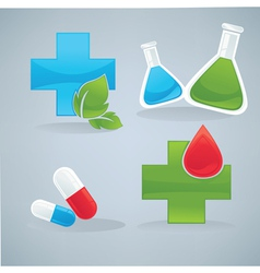 health and drug vector image vector image
