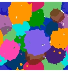 Abstract watercolor of mix colors vector image