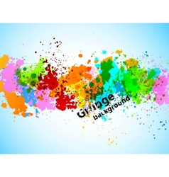 Abstract gunge background vector image